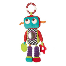 Cute Robot Plush Toys for Baby Shower Pinata Lovely Robot Plush Toys for Children Birthday Gift Baby Puzzle Toys Christmas Gifts(China)