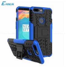 Heavy Duty Hard Plastic Soft TPU Case Rugged Shockproof Kickstand Armor Hybrid Cover OnePlus Three Five One Plus 3 3T 5 5T