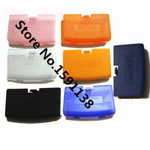 New 5pcs/lot High Quality Mutli-color Battery Cover Replacement For Gameboy Advance GBA Console Back Pack Door