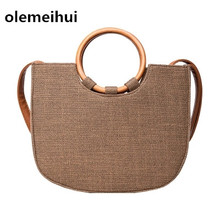 natural cork wooden ring Handmade women striped handbags with brown striped vegan high quality Tote bags  From Portugal