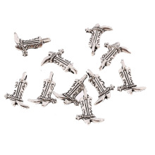 Buy 30pcs Alloy Lady Boots Charms Pendants Bracelets Necklace Tibetan Silver Tone Jewelry Making 18mm x12mm for $2.41 in AliExpress store