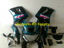 ABS Plastic Fairing kit for 1993 2003 KAWASAKI Ninja ZZR1100 93-03  ZZR 1100 1993-2003 ZX-11 ZZR1100D Cyan fairings bodywork