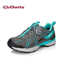 2016 Clorts BOA Hiking Boots for Women 3D027B EVA Uneebtex Waterproof Outdoor Shoes Sports Climbing Sneakers