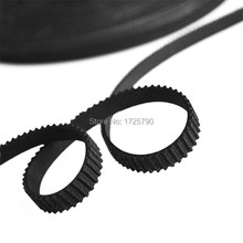 High Quality Rubber 10meter GT2-6mm Open Timing Belt Pulley GT2 6MM for Reprap, Rostock, Prusa, Mendel 3D Printer(China)