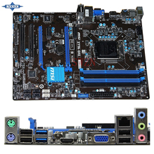 original Used Desktop motherboard For msi Z77A-G43 Z77 support LGA 1155 4*DDR3 support 32G 4*SATA2 USB2.0 ATX