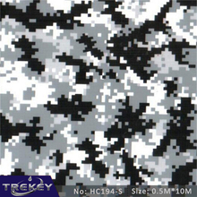 [Width 0.5M] 5 Sqm Camouflage Water Transfer Printing Film HC194-S, Hydrographic film, Decorative Material(China)