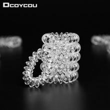 20 PCS Accessories for Woman 3.5CM Hair Accessories Telephone Wire Line Cord Hair Rope Traceless Hair Ring for Girls Headband