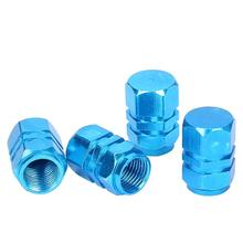 Free Shipping 4pcs/lot Ventil Valve Cap For Auto Car Truck Silver different color available