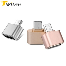 Micro USB OTG 2.0 Hug Converter Camera OTG Adapter for Android Phone Samsung Cable Card Reader Flash Drive OTG Cable Reader