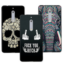 12 Styles New Arrival Dark Man's Case For Nokia 5, Soft Silicone TPU Fundas Coque Capa For Nokia 5 5.2'' Case Cover Free Pen(China)