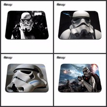 Star War Funny Gaming Top Sell Game Mouse Pad Print Style Durable Anti-slip Mouse Mat for Optical Mouse Pad 18*22cm /25*29cm(China)