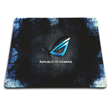 Bule republic player Rubber Soft Gaming Mouse Games Black Mouse pad