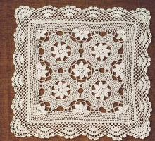 HOT Lace Cotton Crochet tablecloth handmade Table cloth towel doilies square white Tablecloths Covers overlay for wedding decor