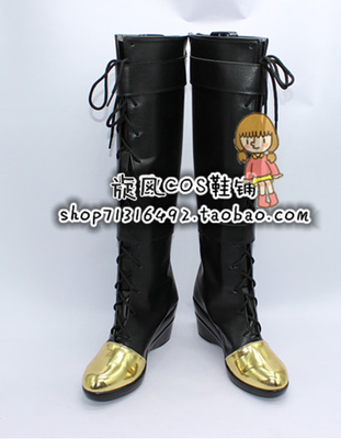 League of Legends Caitlyn Cosplay Shoes Boots Customized Size