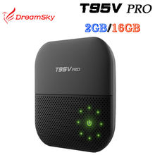 Buy T95V PRO Amlogic S912 Octa Core Android 6.0 TV Box 2GB/16GB Dual WIFI BT4.0 KODI 16.1 H.265 4K T95VPRO Media Player for $64.99 in AliExpress store
