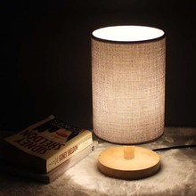 Dimmable lamp / Non adjustable desk LED lamp table lamp bedroom cloth creative fashion modern minimalist European Nightlight