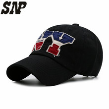 SNP Black white New York baseball cap bone snapback cap brand baseball cap gorras  Black  hats for men ny casquette  hat wom