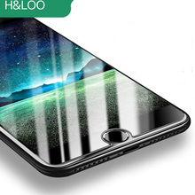 H&lOO For iPhone 8 8plus tempered glass for iphone 7 Plus 7 6 6S Plus 6 s 5S 5 SE Premium Protective Toughened Film