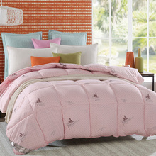 warm Winter Comforter Goose Down quilted Blanket Quilt bedding Filler/Filling King Queen twin size Duvet