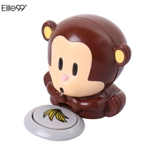 Elite99 Style 1pcs Lovely Monkey Manicure Nail Air Dryer Chocolate Color Gel Polish Air Dryer Nail Beauty Design DIY Tool Needed
