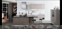 melamine/mfc kitchen cabinets(LH-ME013)(China)
