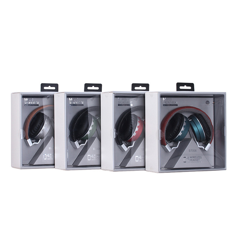 TTLIFE  Bluetooth Headphones Music Earphone Stereo Foldable Headset TF card with Mic FM Radio Earphone  For Mobile Phone<br><br>Aliexpress