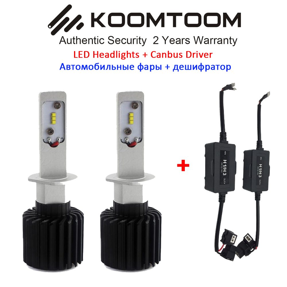 K7S 2Pcs Canbus Error Free LED Headlight Bulb H1 LED Car Headlight Fog Light H3 H4 H7 H8 H11 Car Headlight Light Bulb<br><br>Aliexpress