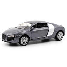 Siku 1:64 children's toys Audi R8 alloy sports car model door can open metal material child favorite gift family ornaments