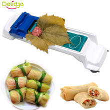 Delidge 1pc Volume Meat Implement Food Grade Plastic Vegetables Roll Meat is Stuffed Beef Pork Chicken Making Tools Kitchenware(China)