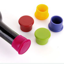 1PCS New Creative Home Wine Beer Cap Silicone Wine Beer Cover Bottle Cap Stopper Kitchen Tools Wholesale