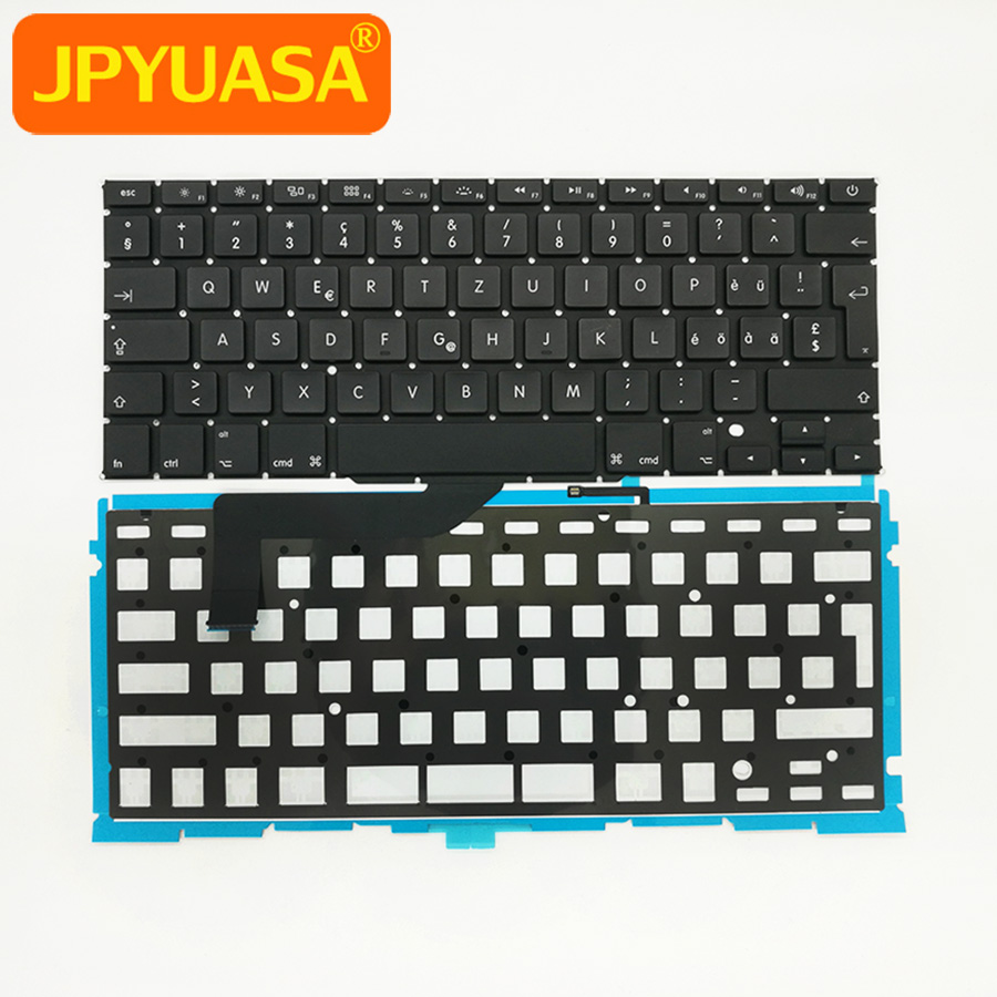 "10pcs/lot New A1398 Swiss Keyboard with Backlight For MacBook Retina Pro 15"" A1398 Switzerland Laptop Keyboard 2012-2015 Years"