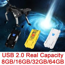 HOT USB Flash Driver,Creative Memoria Mini 8GB 16GB 32GB Pen Drive 64GB USB Flash 2.0 Memory Drives Stick Card Robot Dog 512GB