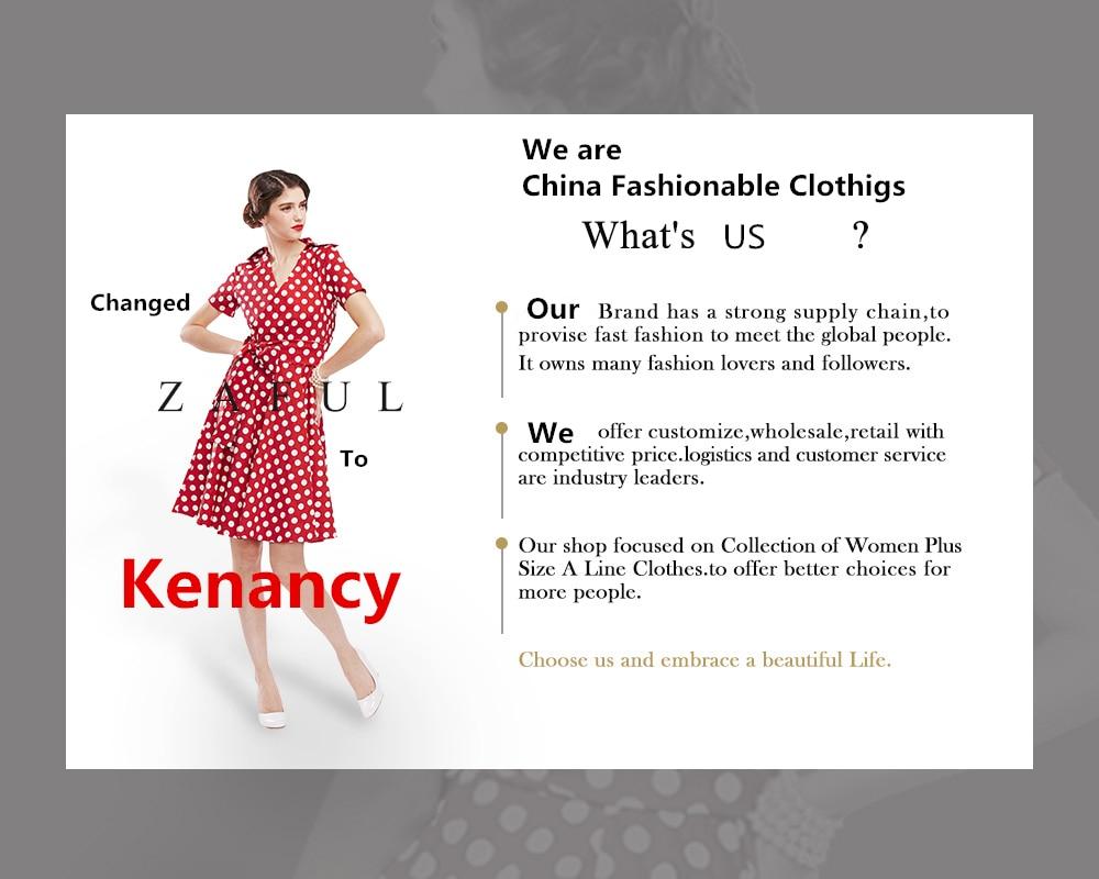 2019 Kenancy Plus Size 5XL Contrast Trim Long Sleeve Tops Elegant ... 27977df220fa