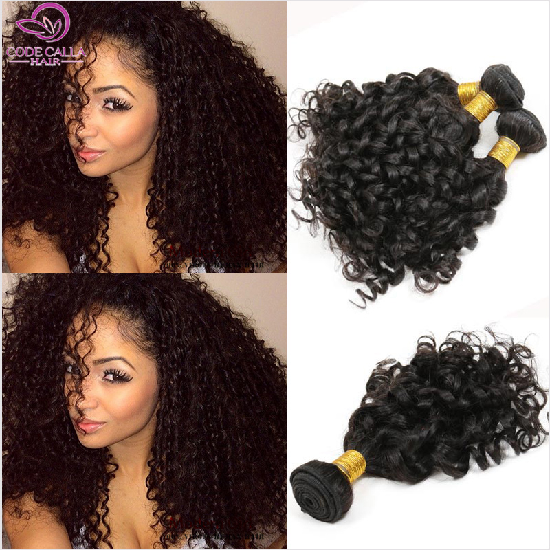 Cheap 6A Indian Curly Virgin Hair Weave Bundles 3pcs Spiral Jerry Curl Indian Nature Curly Hair Virgin Human Hair Extension MC19<br><br>Aliexpress