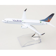 Brand New 1/400 Scale VARIG Boeing 737-800 Airplane 16cm Length Diecast Metal Plane Model Toy For Collection/Gift(China)
