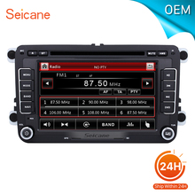"seicane 7"" Universal CAR DVD Player GPS Navigation for 2007-2011 VW Volkswagen Tiguan Support Aux iPod USB SD card With CANBUS(China)"
