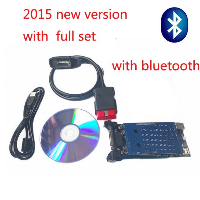 2015.3 newest black new vci for  tcs with bluetooth scanner TCS cdp pro plus  diagnostic tool with new version<br><br>Aliexpress