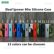 5pcs free shipping Most popular Eleaf iPower Silicone Case Protective Rubber Sleeve Case Skin for Eleaf iPower 80W mod