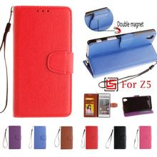 Buy New PU Leather Lather Flip Filp Wallet Phone Case capinha shell Cover Sony Soni Xperia Experia Xpera Xperi Z5 Dual Z 5 Red for $4.64 in AliExpress store