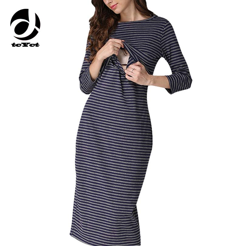 tcYct Moms Party maternity clothes maternity dresses pregnancy clothes for Pregnant Women nursing dress Breastfeeding Dresses<br>