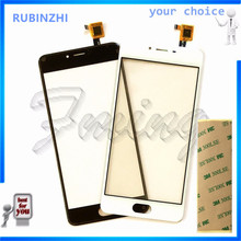 RUBINZHI Mobile Phone Touch Screen Sensor For Meizu M3s Mini Touchscreen Panel Digitizer Front Glass Replacement Parts +tape