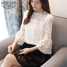 Buy new arrived 2018 spring shirt women fashion blouse female long sleeve shirt chiffon shirt office lady clothing D418 30 for $12.97 in AliExpress store