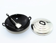 Mini doll house accessories wok kitchen utensils micro - landscape with life scene model(China)