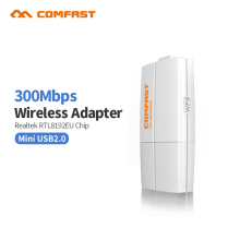 COMFAST CF-WU835P 300Mbps wireless adapter/dongle wifi router 2T2R WPS ethernet wifi dongle one key encryption pc wifi receiver
