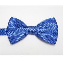 HOOYI 2018 men's solid color bowtie bow ties knot butterfly ascot(China)