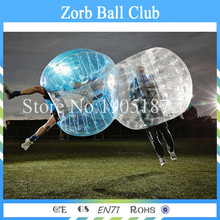 Free Shipping Wholesale Price 1.0mm TPU Best Quality Body Zorb Ball,Bubble Soccer,Inflatable Loopy Ball,Bumper Ball(China)