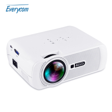 Everycom X7 Wifi Projector Android TV Beamer Miracast Kodi AC3 Support Full HD 1080p Led Home Theater Mini Portable Proyector
