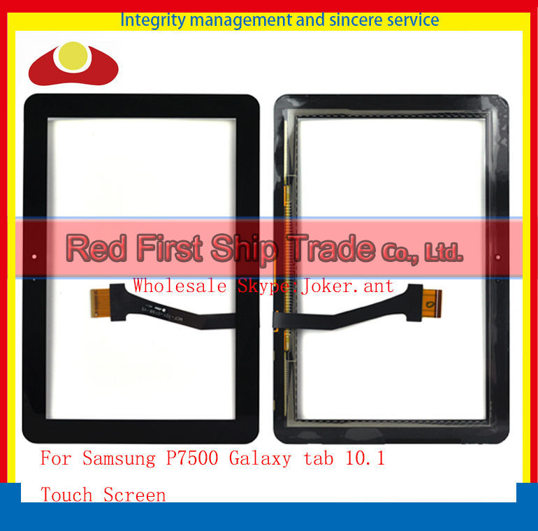 High Quality For Samsung P7500 Galaxy tab 10.1 P7510 Touch Screen With Digitizer Sensor Panel Front Glass Lens White or Black<br><br>Aliexpress