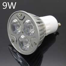 Super Bright GU10 9W 12W 15W LED Spotlight Dimmable Spot Light AC 85-265V Bulbs Ceiling Lamp Lighting High Lumens(China)