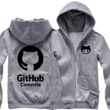 Ubuntu Github Linux Merb Ruby skateboard Casual woman cotton full zip hoodies(China)